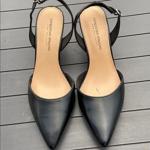 Christian Soriano Sling Back Heels size 9
